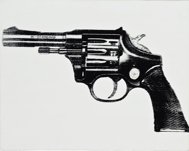 , 'Gun by Andy Warhol,' 1981, Revolver Gallery