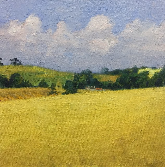 , 'Yellow Field,' , Tatha Gallery