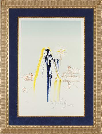 ", '""Surrealist Matador""  Hand Signed Salvador Dali Lithograph ,' 1941-1957, Elena Bulatova Fine Art"