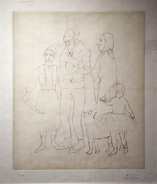 Pablo Picasso, 'La Famille Des Saltimbanques', 1950, Reuben Colley Fine Art