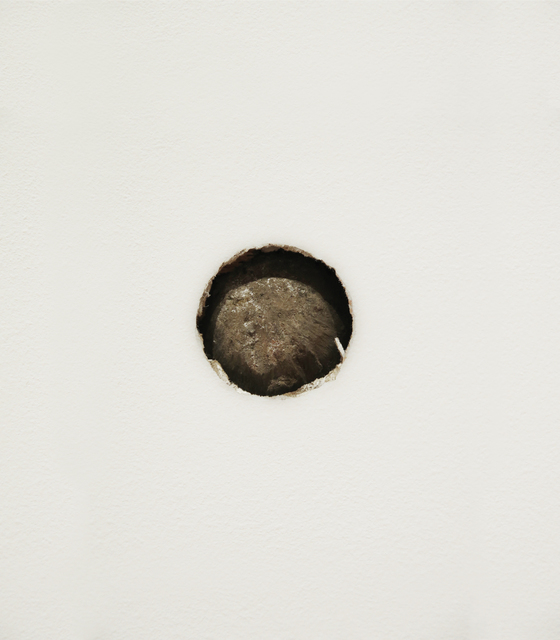 , 'Proposal for The Aldrich Museum No. 6: Re-enactment in the South Gallery of The Aldrich Museum of the Action that Caused a Cannonball to be Lodged in the North Façade of the Keeler Tavern,' 2016, The Aldrich Contemporary Art Museum