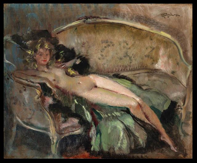 , 'Nu au Sofa ,' 20th Century, Galerie de Souzy