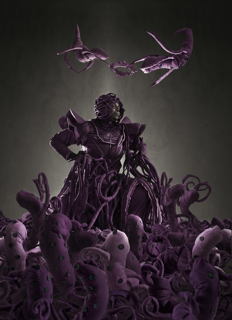 , 'Admiration of the Purple Figure,' 2013, Gallery MOMO