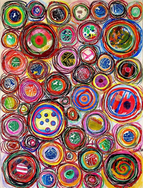 , 'Colorful plaids,' 2003, Pacita Abad Art Estate