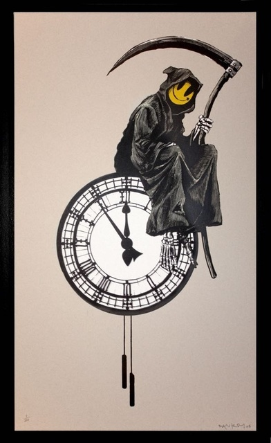 , 'Grin Reaper signed,' 2005, Lionel Gallery