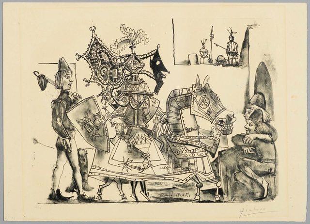 Pablo Picasso, 'Jeux de Pages', 1951, Koller Auctions