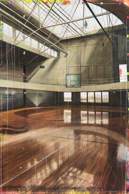 , 'Court / LA,' 2017, Winston Wächter Fine Art