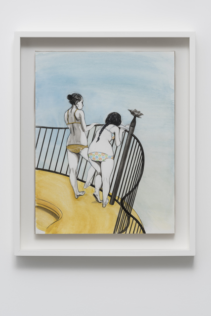 , 'Untitled (Two girls on balcony),' 2016, Pilar Corrias Gallery