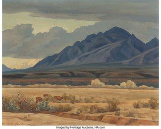 Clouds to the North, Tucson, Arizona