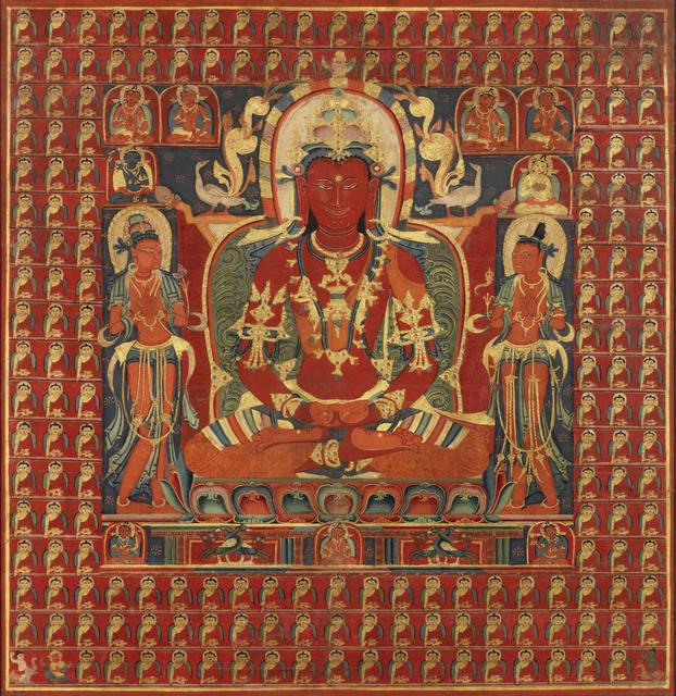 , 'Thangka of Amitayus,' 14th century, Rossi & Rossi