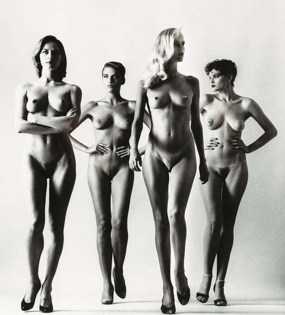 , 'Sie Kommen (Naked), Paris,' 1981, Bernheimer Fine Art