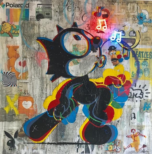 , 'Felix the Cat 3D,' 2018, Galerie LeRoyer