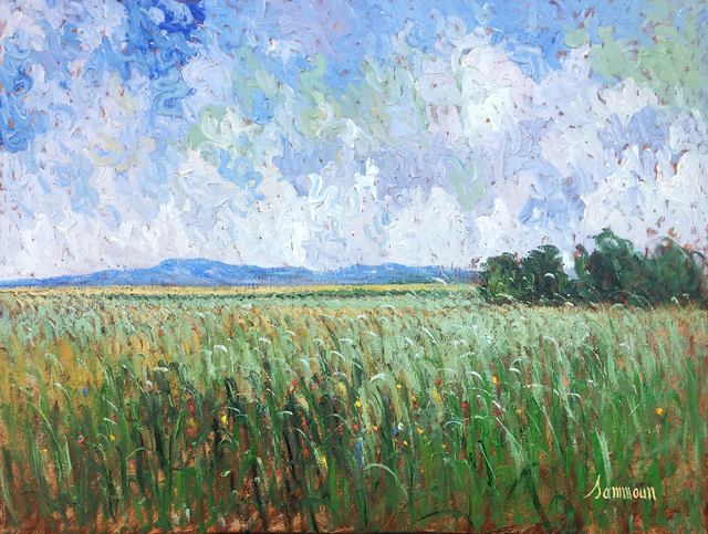 , 'Green Wheat Field, Ile d' Orleans,' 2017, Galerie d'Orsay