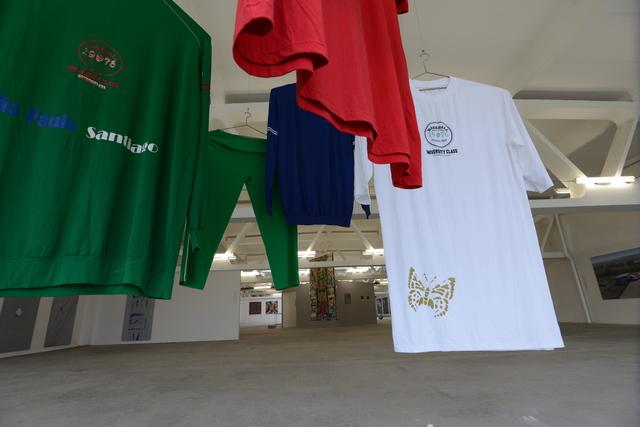 , 'Enlarged Clothing,' 2005, Art Encounters Foundation