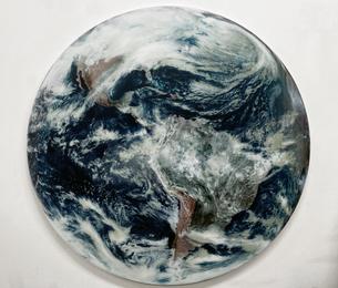 Blue Marble Lenticular