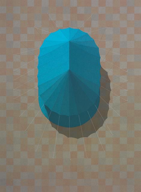 , 'Urban Tent 2 (Blue),' 2014, PRATT CONTEMPORARY / PRATT EDITIONS