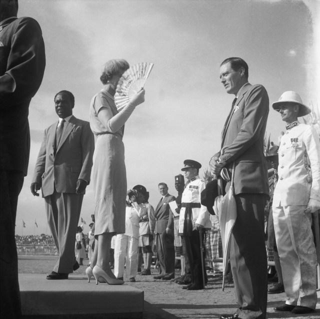 , 'Independance Celebrations, Duchess of Kent, Kwame N'Krumah, Accra, 1957,' 2018, Galerie Clémentine de la Féronnière