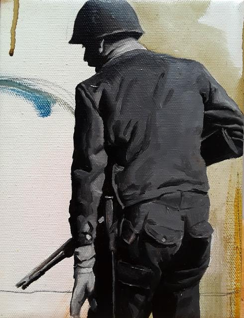 , 'Border Patrol,' 2018, StolenSpace Gallery