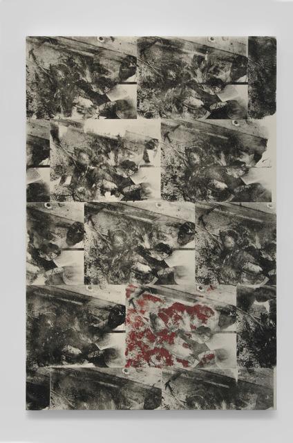 , 'Untitled (active predation payoff matrix),' 2015, Shoshana Wayne Gallery