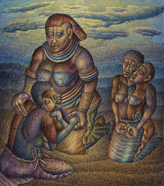 , 'The Grandmother Receives the Lost Children,' 2014-2015, Stevenson