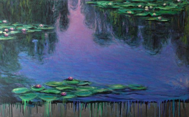 , 'Toxic Run-Off: Waterlilies,' 1999, Nohra Haime Gallery