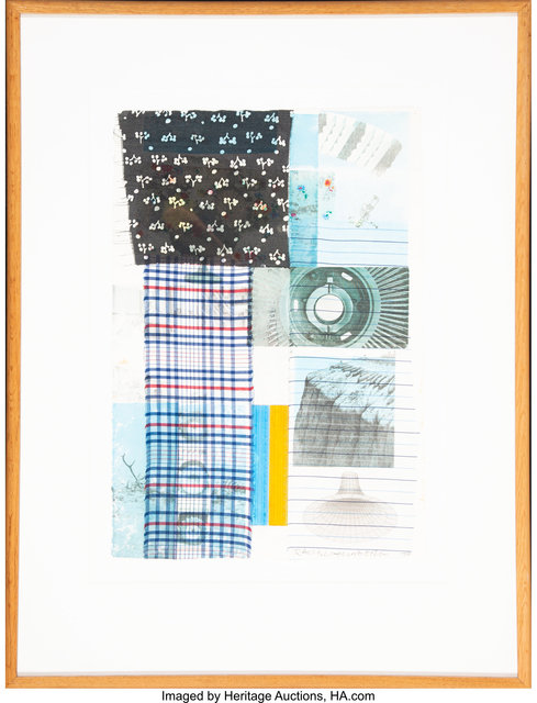 Robert Rauschenberg, 'Study for Arcanum', 1979, Mixed Media, Mixed media with collage on paper, Heritage Auctions