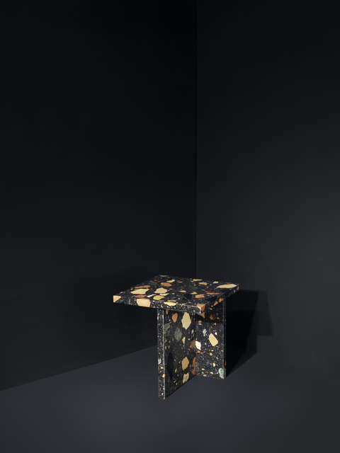 , 'Marmoreal Side Table,' 2014, dzek