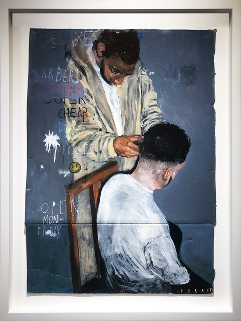 , 'Backyard Haircuts,' 2017, Treason Gallery