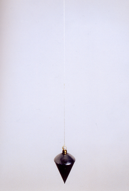 , 'Plumb-line with a white Pearl,' 2003, Federico Luger (FL GALLERY)