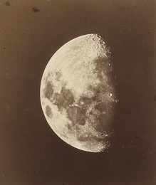 LUNAR PHOTOGRAPH TAKEN AT THE OBSERVATORIO ASTRONÓMICO NACIONAL, MEXICO, 2 FEBRUARY 1887