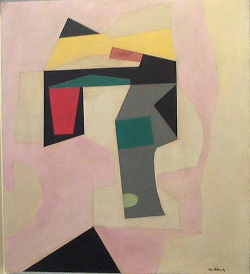 , 'Abstraction in Pink,' 1939, Washburn Gallery