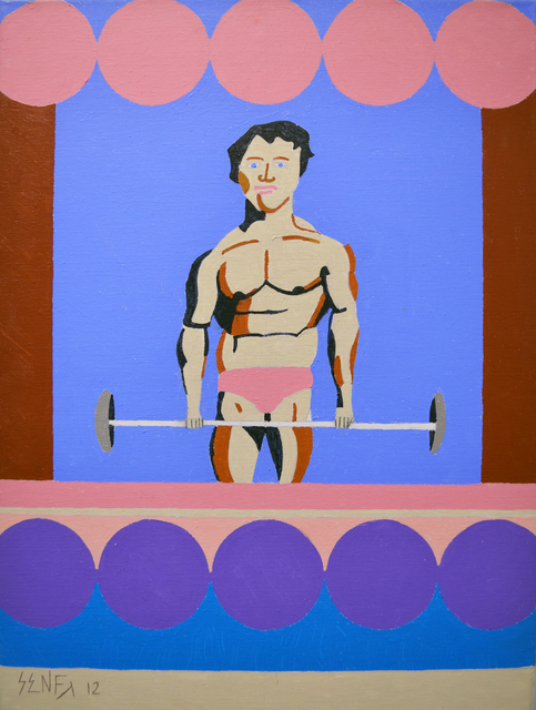 , 'Body Builder,' 2012, Fountain House Gallery