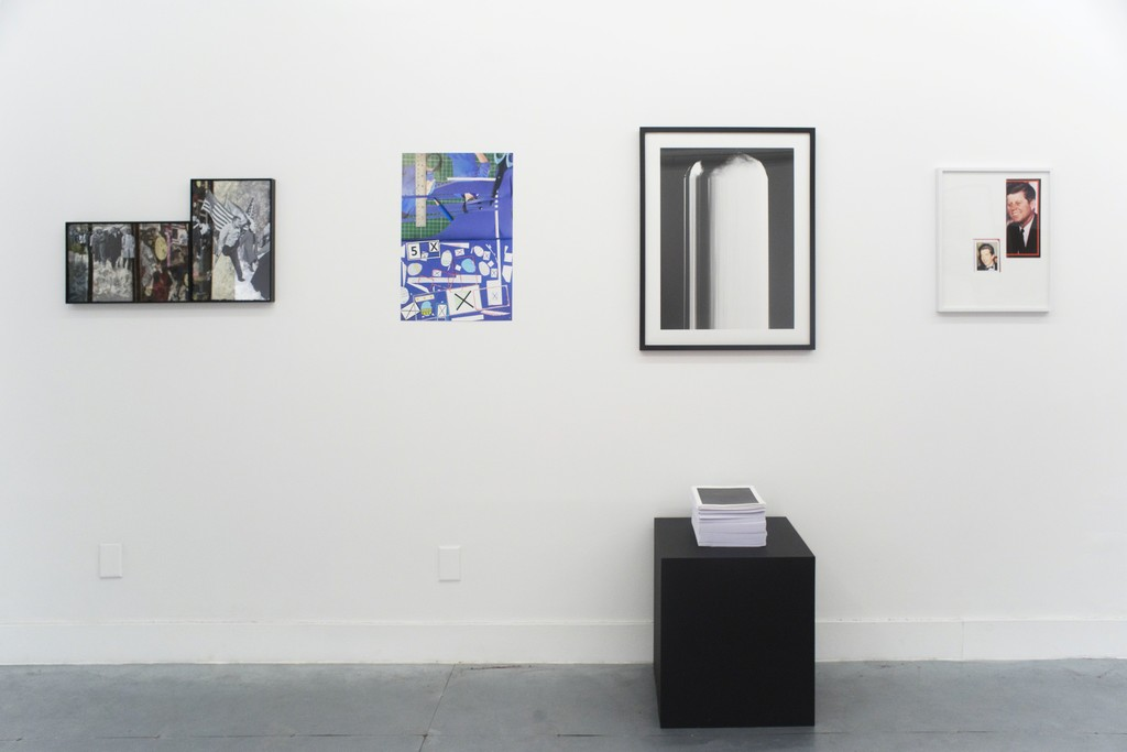 Works by (from left) Hank Willis Thomas, Minstrel Kuik, Vincent Bezoudenhout & Pacifico Silano.