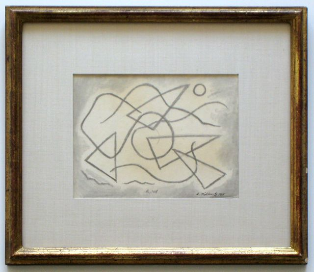 Abraham Walkowitz, 'Abstract Design', 1915, Joseph K. Levene Fine Art, Ltd.