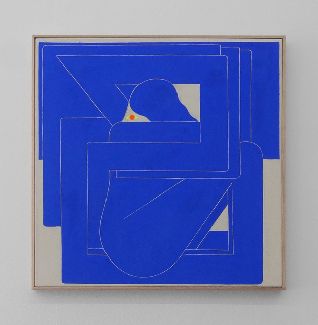 , 'Blue Square (Ultramarine),' 2017, V1 Gallery