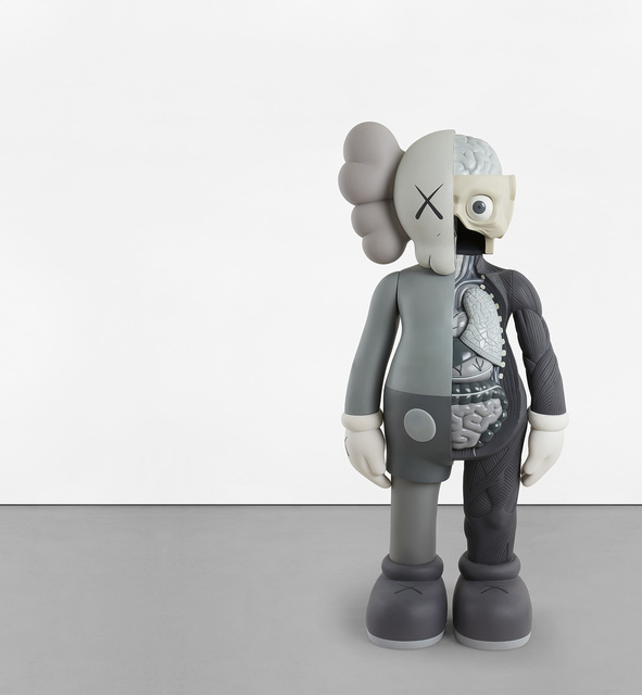 KAWS, 'FOUR FOOT DISSECTED COMPANION (Grey)', 2009, Phillips