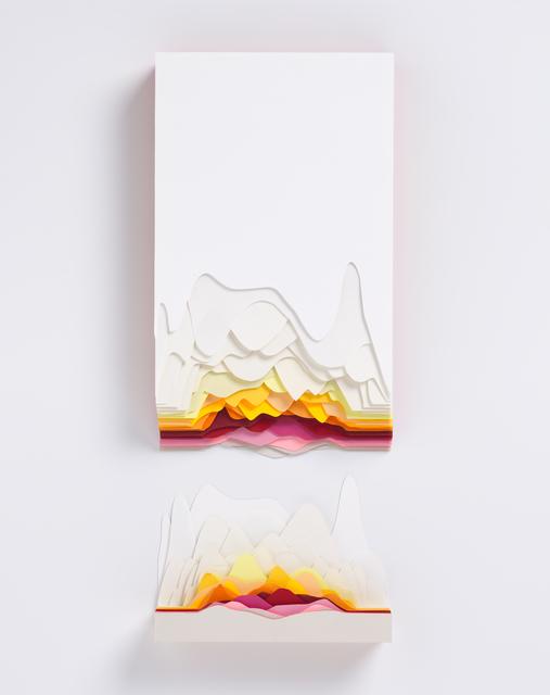 , 'Montage Orange,' 2019, Galerie Art Jingle