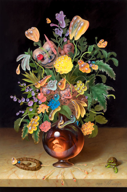Christian Rex van Minnen, 'Immanent Maniac Blossoms', 2019, Robischon Gallery