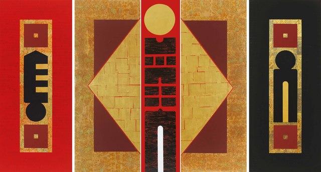, 'Gate of New Hope (Triptych),' 2013, Longmen Art Projects