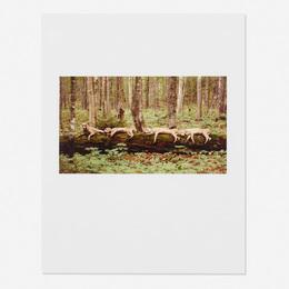 William Wegman, 'Resting Reindeer,' 1997, Wright: Prints + Multiples (January 2017)