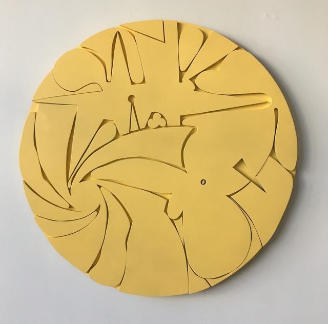 , 'Large Tondo (Sun),' 2017, 440 Gallery