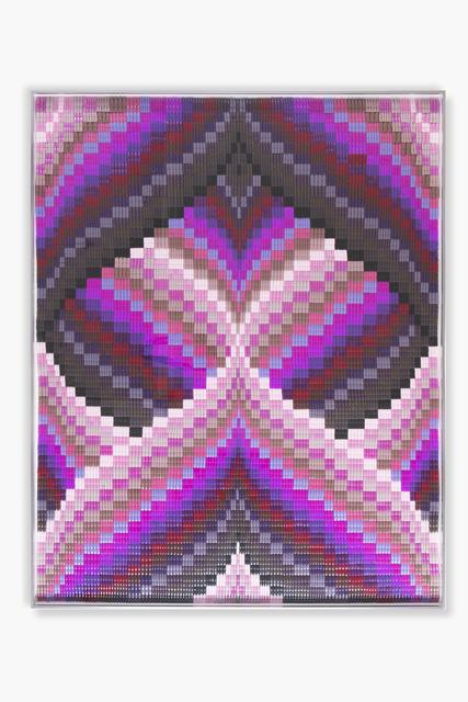 , 'Magenta Heart,' 2018, Richard Taittinger Gallery