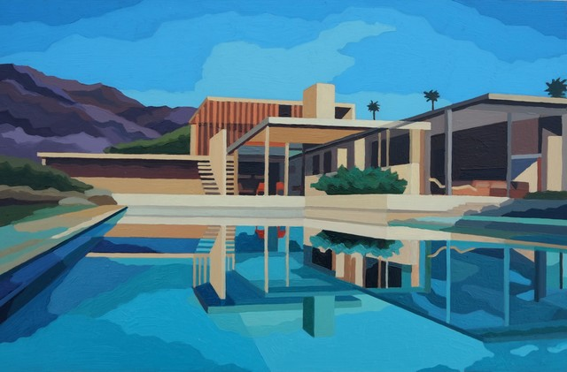 , 'Kaufman House Cinematic View, Palm Spring,' 2016, Cynthia Corbett Gallery