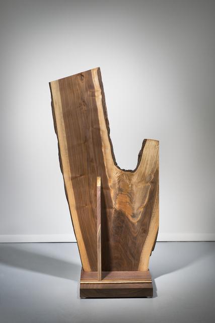 Betty McGeehan, 'Minimal Wood Abstract Sculpture: 'Insurmountable'', 2015-18, Ivy Brown Gallery