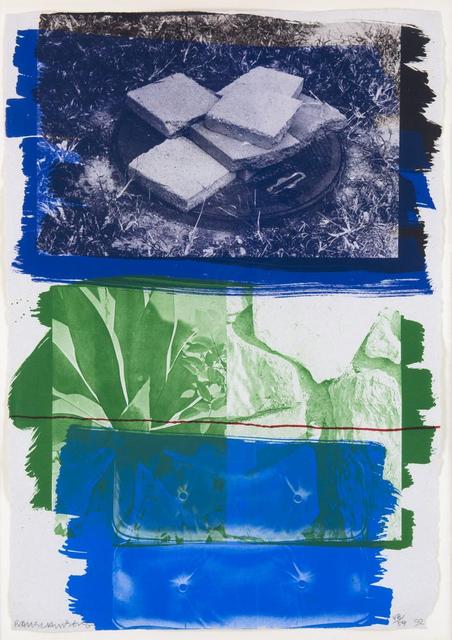 Robert Rauschenberg, 'Viaduct', 1991, BASTIAN
