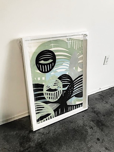 , 'Overlap Eyes (Mint/Black),' 2017, Marcel Katz Art