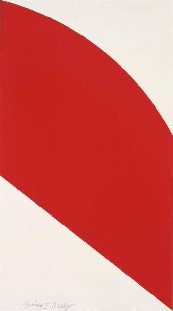 Ellsworth Kelly, 'Red Curve', 2006, Upsilon Gallery