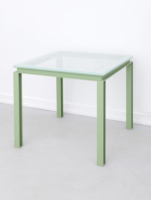 , 'Palazzo Iron Table,' 2018, Palazzo Monti
