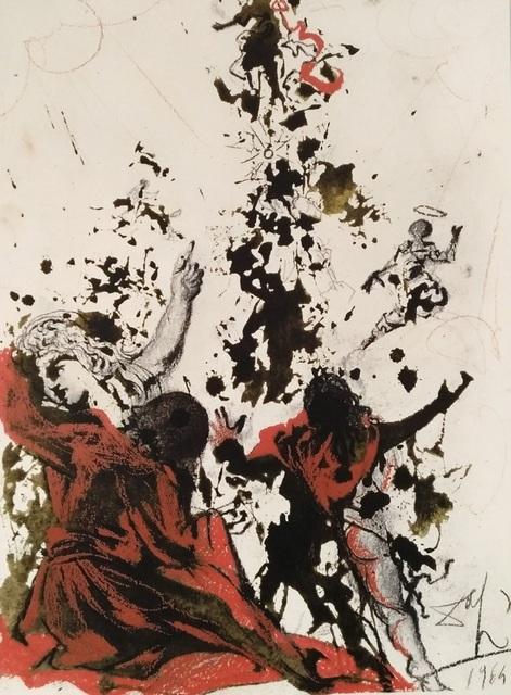 Salvador Dalí, 'Iesu Transfiguratio', 1964, Wallector
