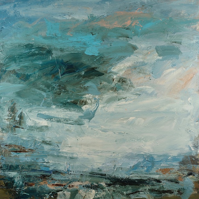Louise Balaam, 'Slanting light at Zennor', 2019, Painting, Oil on canvas, Cadogan Contemporary